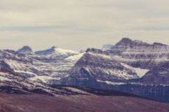 Glacier Park in winter Stock Photography