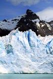Glacier and Mountain Peak Royalty Free Stock Photos