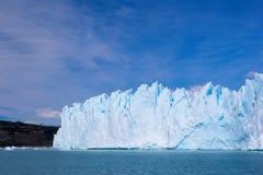 Glacier in Patagonia. Royalty Free Stock Photo