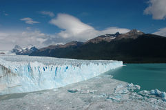 Glacier of Patagonia. Perito Moreno Glacier of Patagonia Stock Photo