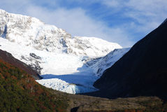 Glacier in Patagonia (Argentina) Royalty Free Stock Photos