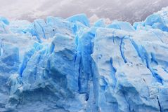Glacier patagonia Stock Photography