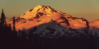 Glacier peak Royalty Free Stock Image