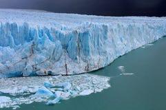Glacier Perito Moreno Photographie stock libre de droits