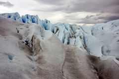Glacier Perito Moreno ice Stock Photo
