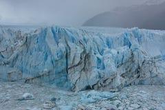 Glacier of Perito Moreno. In Los Glaciares National Park in Argentina stock photography