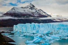 Glacier Perito Moreno National Park in autumn. Argentina, Patagonia.  stock photography