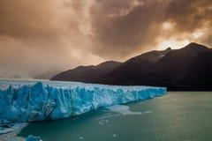 Glacier Perito Moreno National Park in autumn. Argentina, Patagonia Royalty Free Stock Image