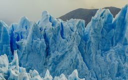 Glacier Perito Moreno in the park Los Glaciares. Autumn in Patagonia, the Argentine side royalty free stock image