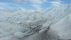 Glacier Perito Moreno, Patagonia, Argentina Stock Photos