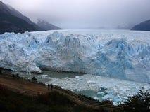 Glacier Perito moreno in Patagonia, sur of Argentina.  royalty free stock images