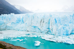 Glacier Perito Moreno, southeast of Argentina. Glacier Perito Moreno Glaciar Perito Moreno on sunny summer day. Patagonia, Argentina, Andes royalty free stock images