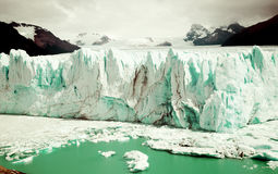 Glacier Perito Moreno, southeast of Argentina Royalty Free Stock Images