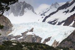 Free Glacier Piedras Blancas With Peaks And Trees Stock Image - 66110091