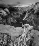 Glacier point overlook Stock Photo