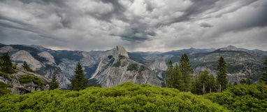Glacier Point Royalty Free Stock Photo