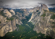 Glacier Point Overlook Royalty Free Stock Photo
