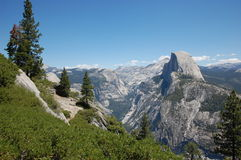 Glacier Point view Yosemite Royalty Free Stock Photos