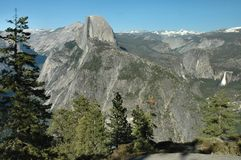 Glacier Point, Yosemite Royalty Free Stock Image