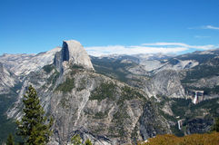 Glacier Point Yosemite National Park Stock Image