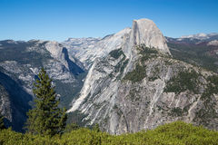 Glacier Point in Yosemite National Park, California, USA. Stock Photography