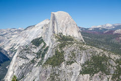Glacier Point in Yosemite National Park, California, USA. Royalty Free Stock Photo
