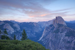 Glacier point yosemite Royalty Free Stock Images
