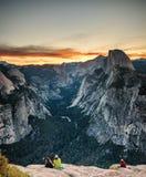 Glacier Point - Yosemite National Park Stock Photography
