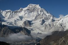 glacier puissant Image libre de droits