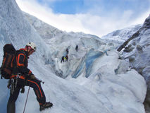 Glacier Rescue Royalty Free Stock Image