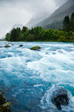 Glacier river Royalty Free Stock Photos