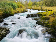 Glacier River Royalty Free Stock Images