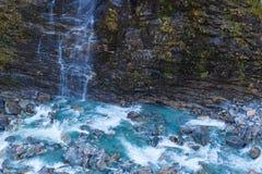 Glacier river Stock Images