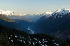 Glacier saumoné, Alaska Photo libre de droits