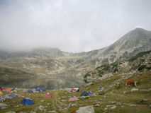 Glacier See Stockfoto