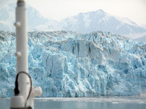 Glacier from a ship Stock Image