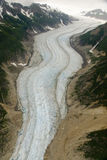 Glacier in Skagway Alaska Royalty Free Stock Photography