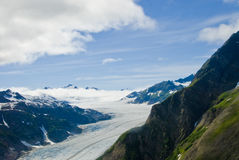 Glacier in Skagway Alaska Royalty Free Stock Image