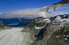 Glacier in Skagway Alaska Royalty Free Stock Photos