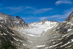 Glacier in Skagway Alaska Stock Photography