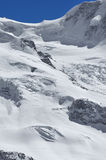 Glacier skiing Stock Photography
