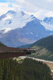 Glacier Skywalk in Jasper National Park Royalty Free Stock Photography