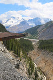 Glacier Skywalk in Jasper National Park,Canada Stock Images