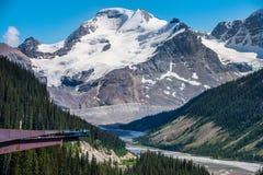 Glacier Skywalk Stock Photography
