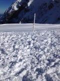 Glacier snow Stock Image