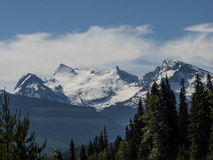 Glacier and snow on the Rocky Mountains Stock Photo