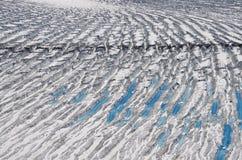 Glacier at St Elias Range Stock Images