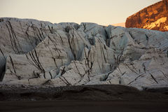 Glacier structures stock photos