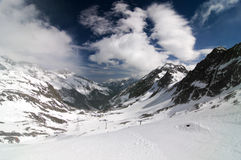 Glacier Stubai Stock Photos