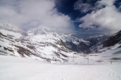 Glacier Stubai Stock Photography